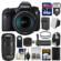 Canon EOS 6D Digital SLR Camera Body & EF 24-105mm IS STM Lens with 70-300mm IS II Lens + 64GB Card + Backpack + Flash + Battery & Charger + Grip + Kit