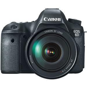 Canon EOS 6D Digital SLR Camera Body with EF 24-105mm L IS USM Lens