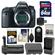 Canon EOS 6D Digital SLR Camera Body with 64GB Card + Battery & Charger + Battery Grip + Remote + Accessory Kit