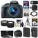 Canon EOS Rebel SL1 Digital SLR Camera & EF-S 18-55mm IS STM Lens (Black) with 64GB Card + Battery & Charger + Case + Tele/Wide Lenses + Filters + Tripod Kit