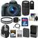Canon EOS Rebel SL1 Digital SLR Camera & EF-S 18-55mm IS STM Lens (Black) with 75-300mm III Lens + 32GB Card + Battery + Backpack + Filters + Accessory Kit