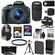 Canon EOS Rebel SL1 Digital SLR Camera & EF-S 18-55mm IS STM Lens (Black) with 75-300mm III Lens + 64GB Card + Battery + Backpack + 2 Lenses + Accessory Kit