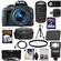 Canon EOS Rebel SL1 Digital SLR Camera & EF-S 18-55mm IS STM Lens (Black) with 75-300mm III Lens + 64GB Card + Battery + Case + Flash + 3 UV/CPL/ND8 Filters Kit