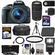 Canon EOS Rebel SL1 Digital SLR Camera & EF-S 18-55mm IS STM Lens (Black) with 75-300mm III Lens + 64GB Card + Battery + Case + Flash + 3 UV/CPL/ND8 Filters Kit