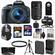 Canon EOS Rebel SL1 Digital SLR Camera & EF-S 18-55mm IS STM Lens (Black) with 55-250mm IS STM Lens + 64GB Card + Battery + Backpack + Tele/Wide Lens Kit