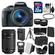 Canon EOS Rebel SL1 Digital SLR Camera & EF-S 18-55mm IS STM Lens (Black) with 55-250mm IS STM Lens + 32GB Card + Case + Flash + Battery/Chgr + Tripod + 2 Lens Kit