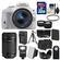 Canon EOS Rebel SL1 Digital SLR Camera & EF-S 18-55mm IS STM Lens (White) with 55-250mm IS STM Lens + 32GB Card + Case + Flash + Battery/Chgr + Tripod + 2 Lens Kit
