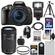Canon EOS Rebel T5i Digital SLR Camera & EF-S 18-135mm IS STM Lens with EF-S 55-250mm IS STM Lens + 32GB Card + Battery + Backpack + Flash + Tripod + Kit