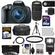Canon EOS Rebel T5i Digital SLR Camera & EF-S 18-55mm IS STM Lens with EF 75-300mm III Lens + 64GB Card + Battery + Case + Flash + 3 UV/CPL/ND8 Filters Kit