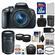 Canon EOS Rebel T5i Digital SLR Camera & EF-S 18-55mm IS STM Lens with EF-S 55-250mm IS STM Lens + 32GB Card + Case + Battery/Charger + Tele/Wide Lens Kit