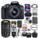 Canon EOS Rebel T6 Wi-Fi Digital SLR Camera & EF-S 18-55mm IS II Lens with 55-250mm IS STM Lens + 64GB Card + Case + Flash + Battery & Charger + Tripod + Kit