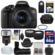Canon EOS Rebel T6i Wi-Fi Digital SLR Camera & EF-S 18-55mm IS STM Lens with 64GB Card + Case + Grip + Tripod + Flash + Tele/Wide Lens Kit