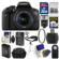 Canon EOS Rebel T6i Wi-Fi Digital SLR Camera & EF-S 18-55mm IS STM Lens with 32GB Card + Case + Flash + Battery & Charger + Tripod + UV Filter + Remote + Kit