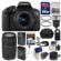 Canon EOS Rebel T6i Wi-Fi Digital SLR Camera & EF-S 18-55mm IS STM Lens with 75-300mm III Lens + 64GB Card + Case + Flash + Battery/Charger + Tripod + Filters Kit