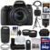 Canon EOS Rebel T6s Wi-Fi Digital SLR Camera & EF-S 18-135mm IS STM Lens with 75-300mm III Lens + 64GB Card + Case + Grip + Tripod + Flash + Tele/Wide Lens Kit