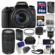 Canon EOS Rebel T6s Wi-Fi Digital SLR Camera & EF-S 18-135mm IS STM Lens with 75-300mm III Lens + 64GB Card + Case + Flash + Battery/Charger + Tripod + Filters Kit
