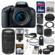 Canon EOS Rebel T7i Digital SLR Camera & EF-S 18-55mm IS STM Lens with 75-300mm III Lens + 64GB Card + Case + Flash + Battery/Charger + Tripod + 2 Lens Kit