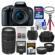 Canon EOS Rebel T7i Digital SLR Camera & EF-S 18-55mm IS STM Lens with 75-300mm III Lens + 32GB Card + Case + Flash + Tripod + Filters + Tele/Wide Lens Kit