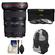 Canon EF 16-35mm f/2.8 L II USM Zoom Lens with Backpack Case + 3 (UV/ND8/CPL) Filters + Cleaning Kit