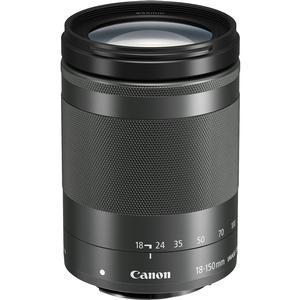 Canon EF-M 18-150mm f-3.5-6.3 IS STM Zoom Lens-Graphite -