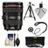 Canon EF 24-105mm f/4 L IS USM Zoom Lens with 3 (UV/CPL/ND8) Filters + Tripod + Accessory Kit