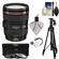 Canon EF 24-105mm f/4 L IS USM Zoom Lens with Tripod + 3 Filters Kit