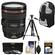 Canon EF 24-105mm f/4 L IS USM Zoom Lens with 3 Filters + Sling Backpack + Tripod + Kit