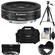 Canon EF 40mm f/2.8 STM Pancake Lens with Canon 2400 Case + 3 (UV/CPL/ND8) Filters + Hood + Tripod + Accessory Kit