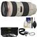 Canon EF 70-200mm f/2.8L USM Zoom Lens with 3 UV/ND8/CPL Filters + Accessory Kit