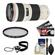 Canon EF 70-200mm f/4 L USM Zoom Lens with Hoya HMC UV Filter + Accessory Kit