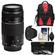 Canon EF 75-300mm f/4-5.6 III USM Zoom Lens with 3 UV/CPL/ND8 Filters + Hood + Backpack + Cleaning Kit