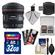 Canon EF 8-15mm f/4.0 L USM Fisheye Zoom Lens with 32GB SD Card + Kit