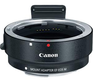 Canon EF-EOS M Mount Adapter (EF Lens to EF-M EOS Camera)