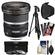 Canon EF-S 10-22mm f/3.5-4.5 USM Ultra Wide Angle Zoom Lens with Tripod + 3 UV/CPL/ND8 Filters + Hood + Kit