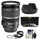 Canon EF-S 17-55mm f/2.8 IS USM Zoom Lens with Hood + 3 UV/CPL/ND8 Filters + Accessory Kit