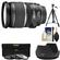 Canon EF-S 17-55mm f/2.8 IS USM Zoom Lens with 3 UV/CPL/ND8 Filters + Hood + Tripod + Cleaning Kit