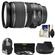 Canon EF-S 17-55mm f/2.8 IS USM Zoom Lens with Backpack + 3 UV/CPL/ND8 Filters + Hood + Cleaning Kit