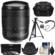 Canon EF-S 18-135mm f/3.5-5.6 IS USM Zoom Lens with 3 UV/CPL/ND8 Filters + Hood + Case + Tripod + Kit