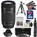 Canon EF-S 55-250mm f/4.0-5.6 IS STM Zoom Lens with 32GB Card + 3 UV/CPL/ND8 Filters + Hood + Tripod + Accessory Kit