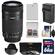 Canon EF-S 55-250mm f/4.0-5.6 IS STM Zoom Lens with 64GB Card + LP-E8 Battery + Charger + 3 UV/CPL/ND8 Filters + Hood + Kit