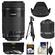 Canon EF-S 55-250mm f/4.0-5.6 IS STM Zoom Lens with Tripod + 3 UV/CPL/ND8 Filters + Hood + Kit