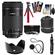 Canon EF-S 55-250mm f/4.0-5.6 IS STM Zoom Lens with Case + Flex Tripod + 3 UV/CPL/ND8 Filters + Hood + Accessory Kit