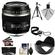 Canon EF-S 60mm f/2.8 Macro USM Lens with 3 UV/CPL/ND8 Filters + Lens Hood + Tripod + Accessory Kit