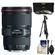 Canon EF 16-35mm f/4L IS USM Zoom Lens with Canon Tripod + 3 Filters Kit