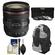Canon EF 24-70mm f/4L IS USM Zoom Lens with 3 UV/ND8/CPL Filters + Backpack + Cleaning Kit