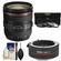 Canon EF 24-70mm f/4L IS USM Zoom Lens with 3 UV/ND8/CPL Filters + 2x Teleconverter + Cleaning Kit