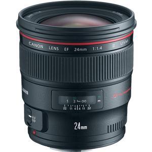Canon EF 24mm f-1.4L II USM Lens