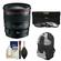 Canon EF 24mm f/1.4L II USM Lens with 3 (UV/ND8/CPL) Filters + Backpack Case + Cleaning Kit