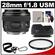 Canon EF 28mm f/1.8 USM Lens with Hood + Hoya UV Filter + Accessory Kit
