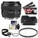 Canon EF 28mm f/1.8 USM Lens with Hood + UV Filter + Accessory Kit